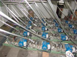 Linka na sekání skleněného vlákna